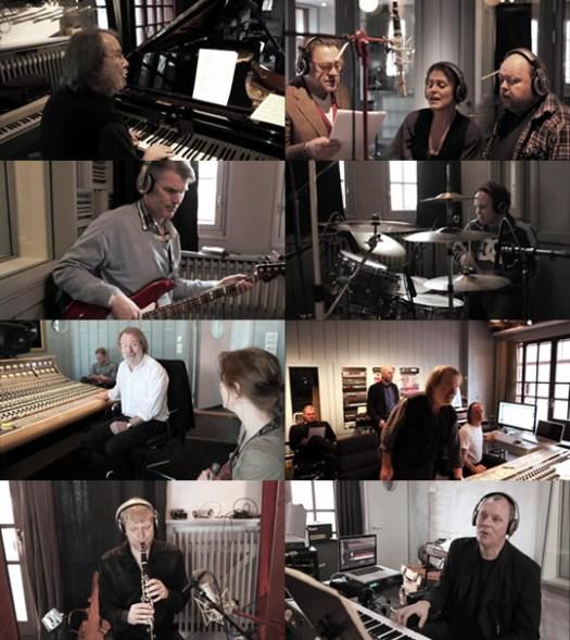 Benny Anderssons Orkester recording Allt syns när man är naken