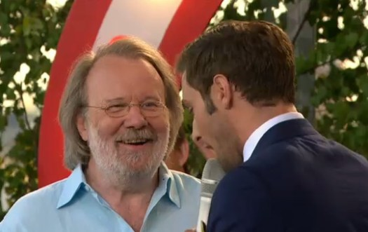 Benny Andersson interviewed during BAO's appearance at Skansen.