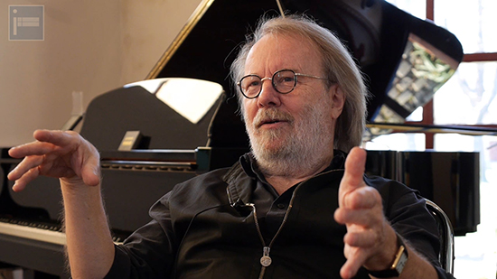 Benny Andersson, December 2013 in Stockholm talking exclusively to icethesite.