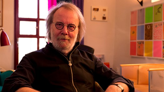 Benny Andersson was interviewed at Mono Music, Stockholm in early December 2013
