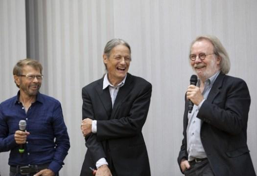 Björn, Lars and Benny in Gothenburg.   Photo: Camilla Simonsson