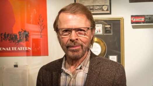 Björn Ulvaeus at the Songwriting Camp in Stockholm on 29 January
