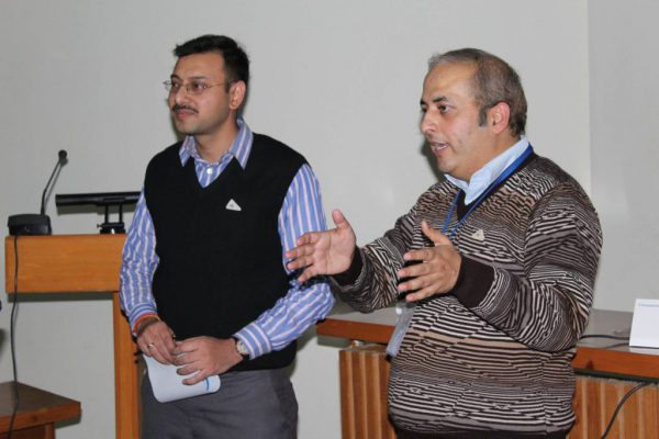 Abhinav-Singhal-and-Sachin-Gaur-talk-at-the-IC-InnovatorCLIB-third-meeting-1024x683