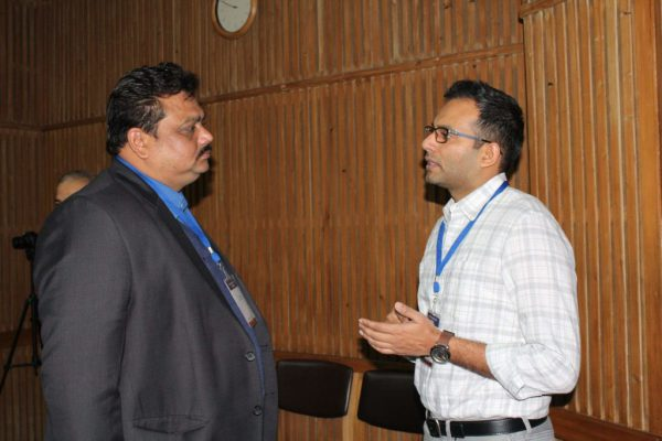 Prof-Satyabhushan-Das-and-Sharvesh-Tewari-at-IC-InnovatorCLUB-third-meeting-1024x683