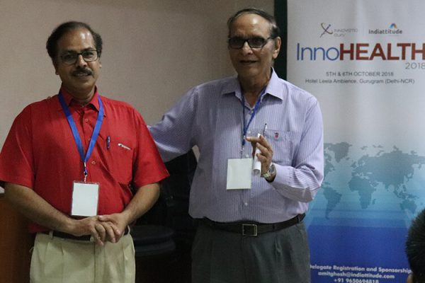 12 Dr Bhupesh Sharma And Dr VK Singh at IC InnovatorClub Fifth Meeting