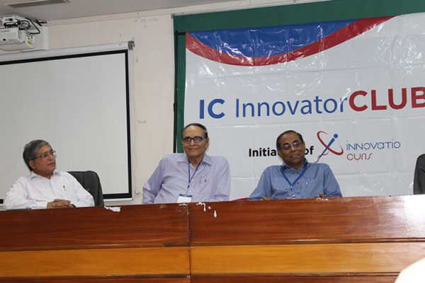 1Mukul Bagga, Dr VK Singh and Dr Amit Kumar Dinda at IC InnovatorClub Fifth Meeting