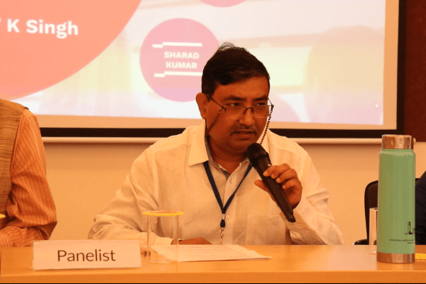 Partha Roy in the panel discussion at IC InnovatorClub Meeting