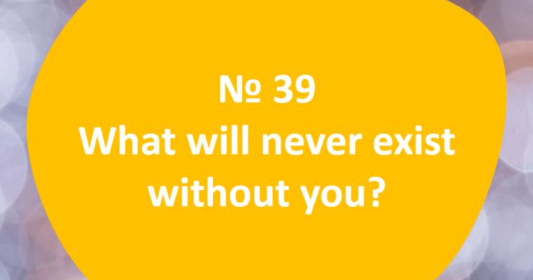 60 Questions – Question #39
