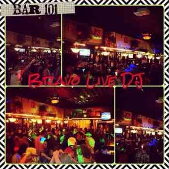 Live DJ at Bar 101 Charleston WV
