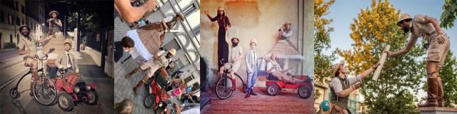 carrellata immagini parata le grand crazy tour