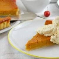Pumpkin Pie - Amerikanischer Kürbiskuchen