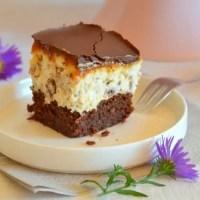 Cheesecake Würfel mit Karamell