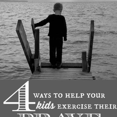 4 Ways to Help Your Kids Exercise Their Brave