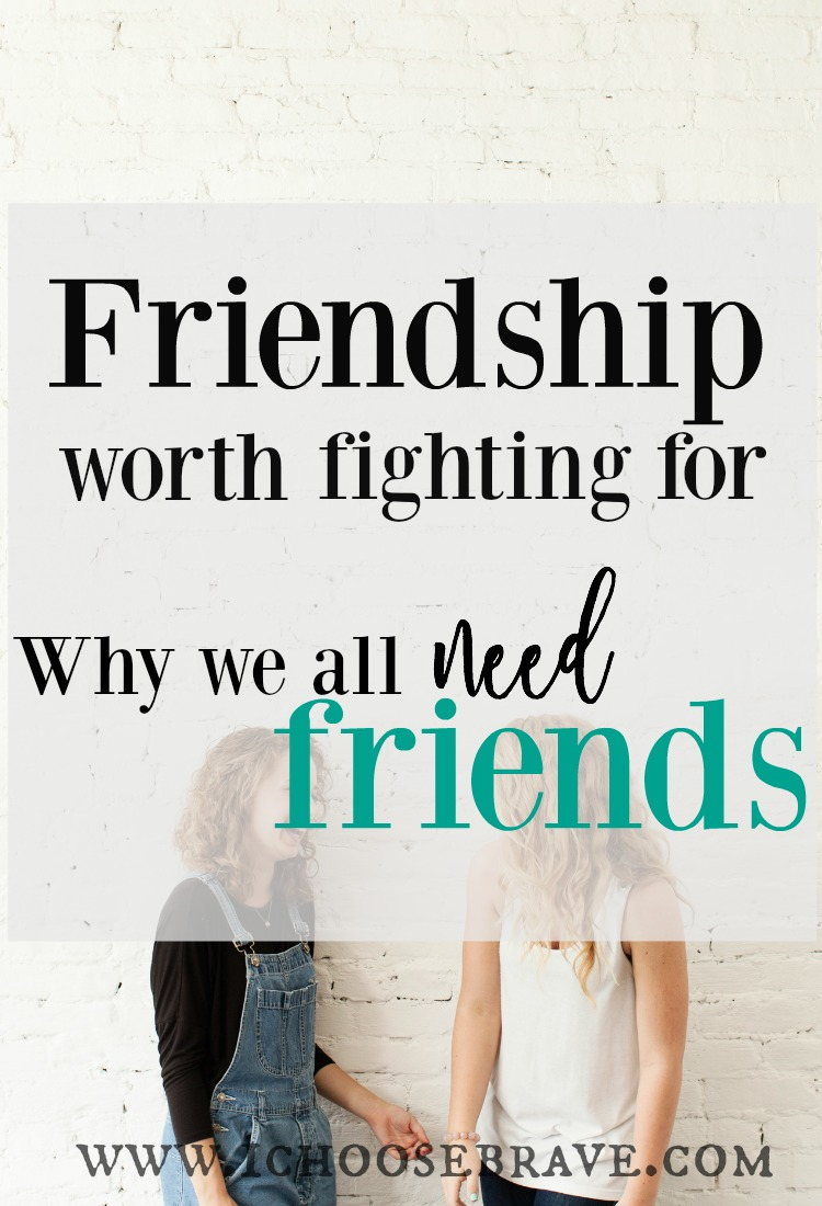 why we need friends And i feel the need for friends is more psychological than physical, although the latter is important too, else we would've been happy with imaginary friends all in all, friends play an important role in shaping our personality.
