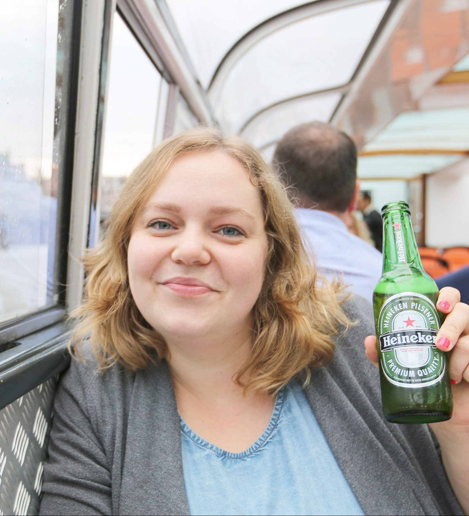 Grachtenfahrt Amsterdam Heineken