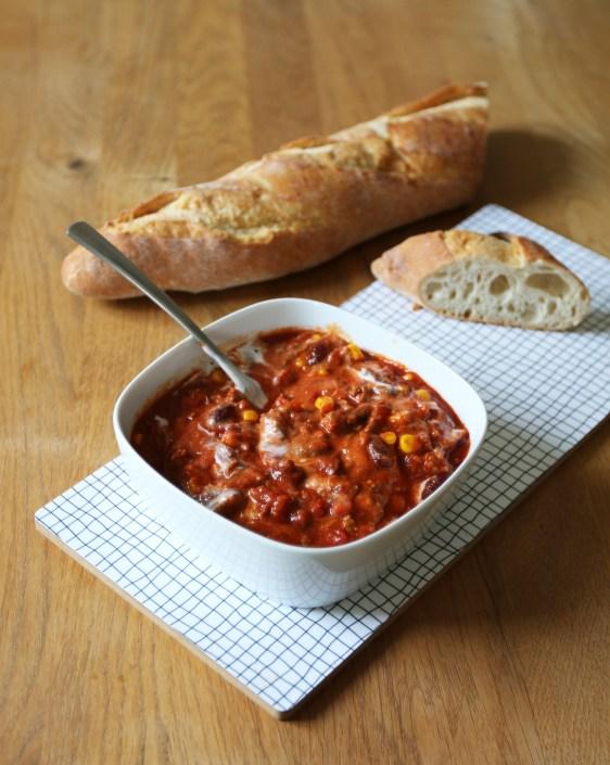 Ein einfaches und leckeres Rezept für Chilli con carne gibt es jetzt auf dem Blog. Für mich ein echter Klassiker. | Ichsowirso