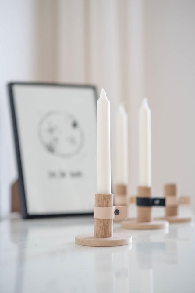 Kerzenständer Miau Design