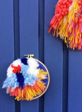 Im Türchen Nummer 10 gibt es ein Wallhanger von Ambacht zu gewinnen. Handmade und Design aus Hamburg.