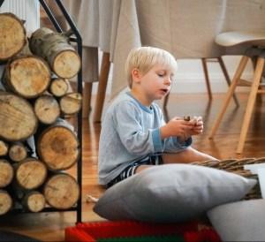 Ein paar Gedanken aus dem Leben mit Kindern zur schönsten Zeit des Jahres. Von den Wünschen nach Ruhe und Besinnlichkeit zwischen den Feiertagen. Von wilden Löwen und wilden Rutschen. / ichsowirso.de