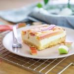 Rezept // Rhababer- Käsekuchen vom Blech