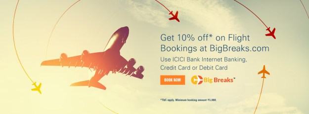 BigBreaks ICICI Bank Offer