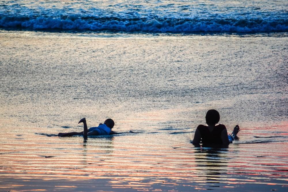 Bali coucher de soleil kuta