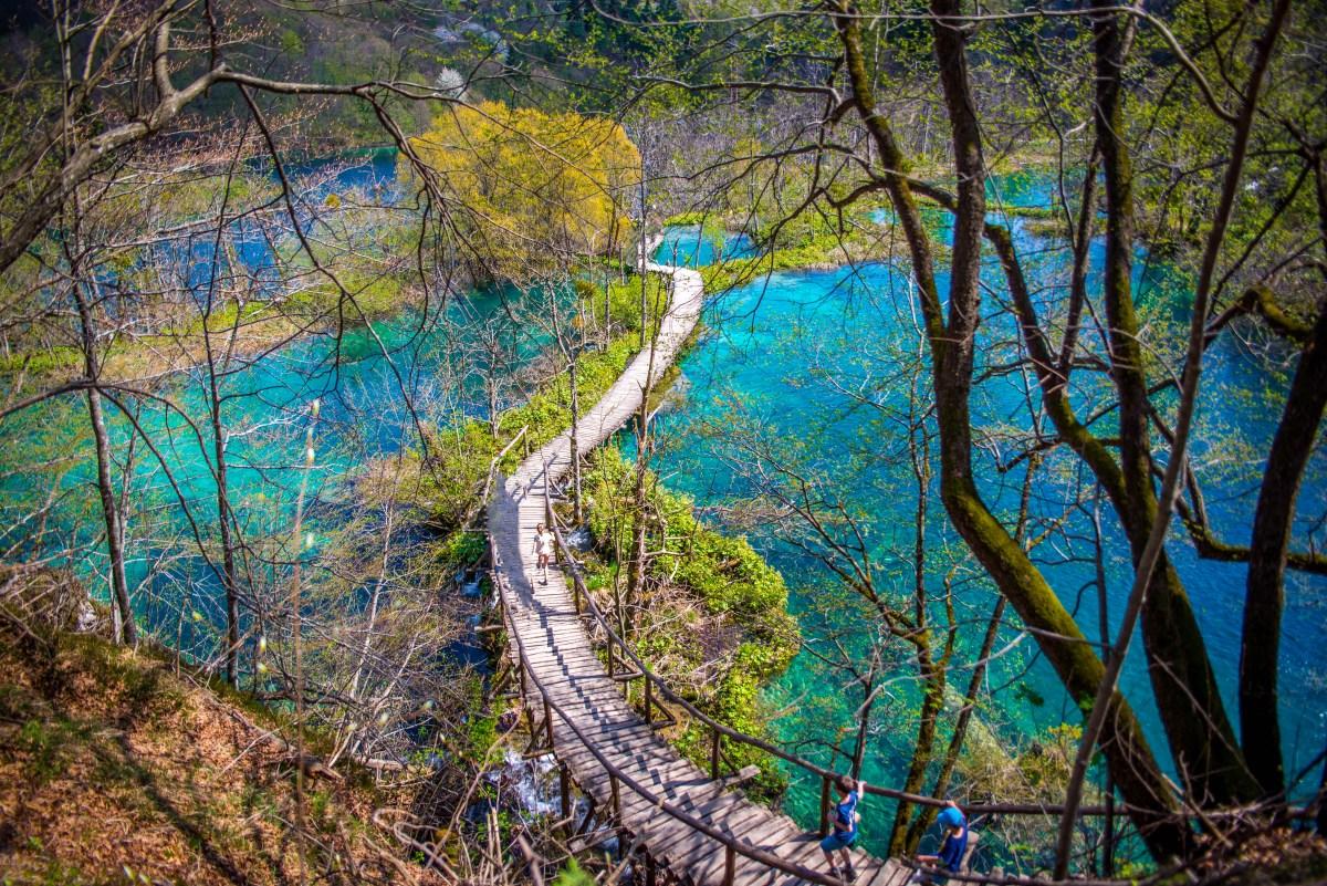 Comment aller au lac Croatie plitvice blog voyage icietlabas blogvoyage ici et là-bas www.icietlabas.fr