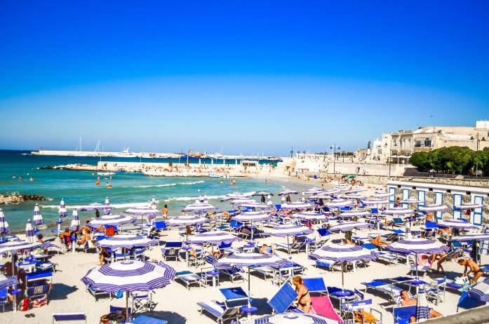 Otranto Salento Pouilles plages