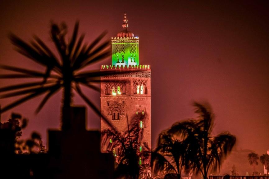 La mosquée de la Koutoubia blog voyage