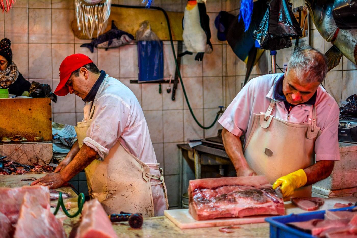 Mercado Central La Vega Central Santiago Chili Chile Amérique du Sud
