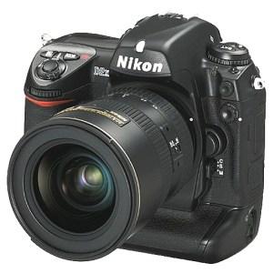 Un boîtiers reflex Nikon