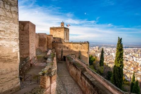 Visiter l'Alhambra à Grenade l'Alhambra