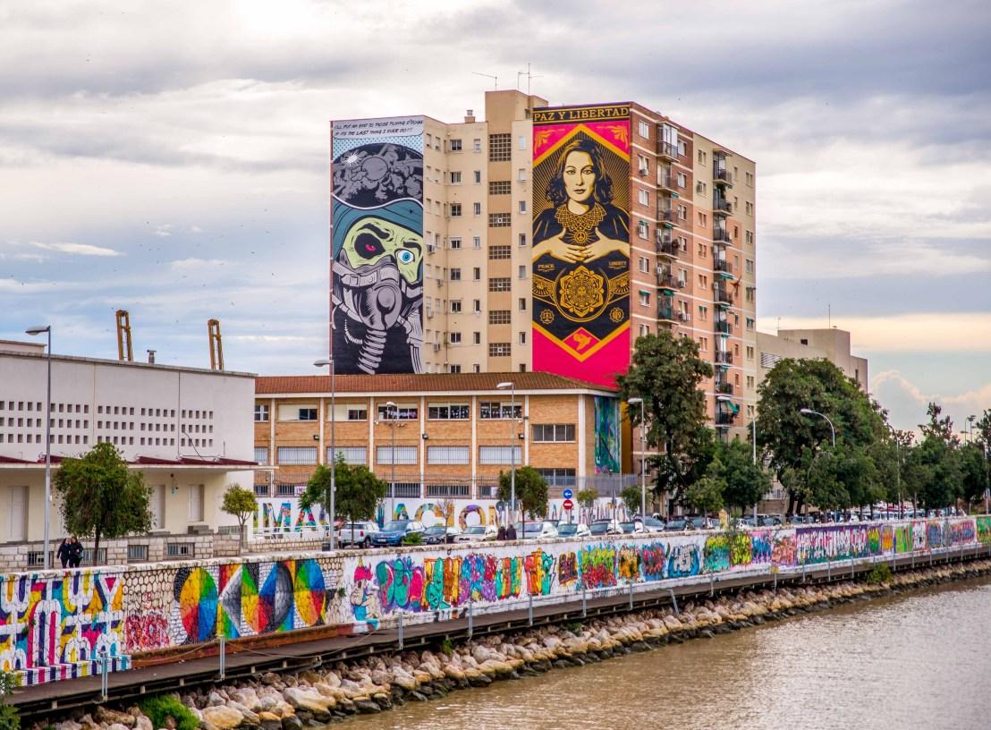 Obey en Espagne Street Art Blog Voyage