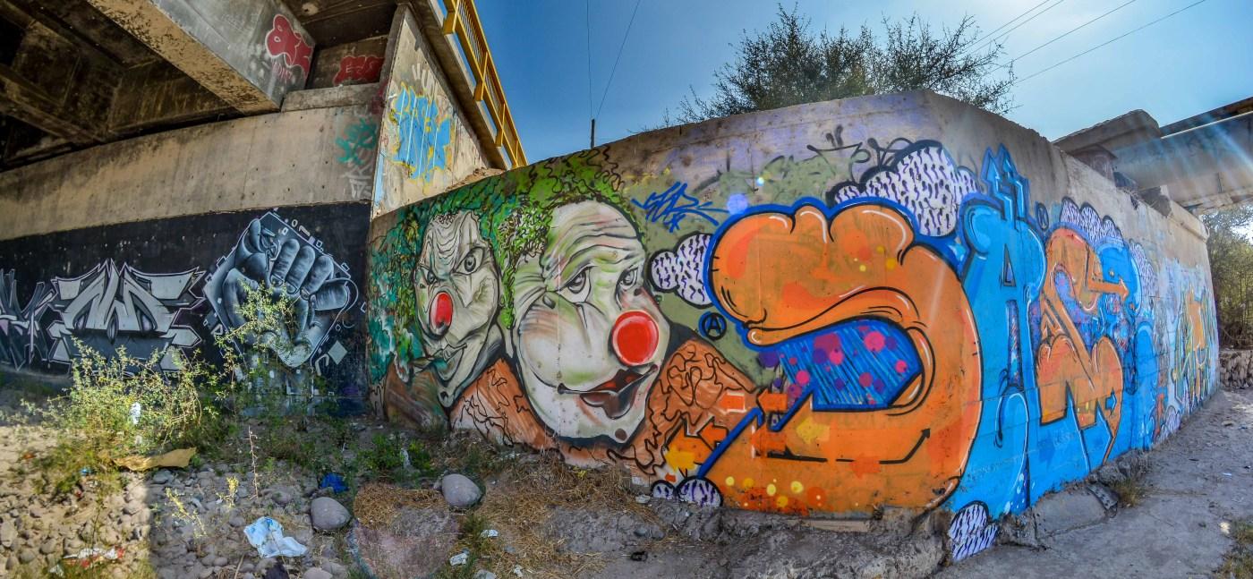 Street Art Voyage au Chili Voyage dans le nord du Chili BLog Voyage