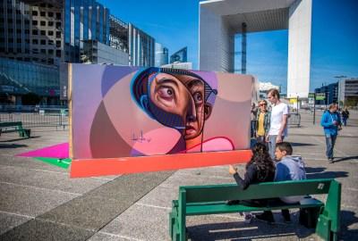 Paris streetart undergroundeffect underground effect urbanweek urban week la defesnse blog voyage blogvoyage icietlabas