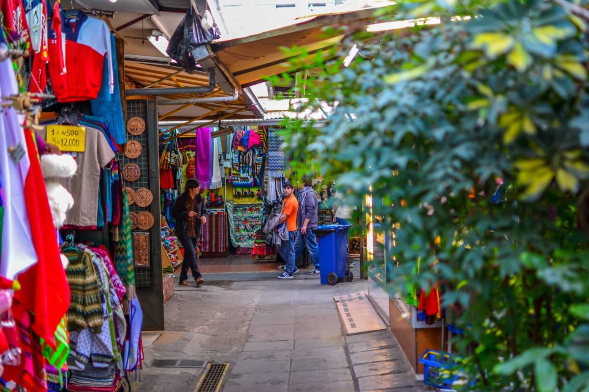 santiago chili blog voyage icietlabas ici et la bas mercado santa lucia