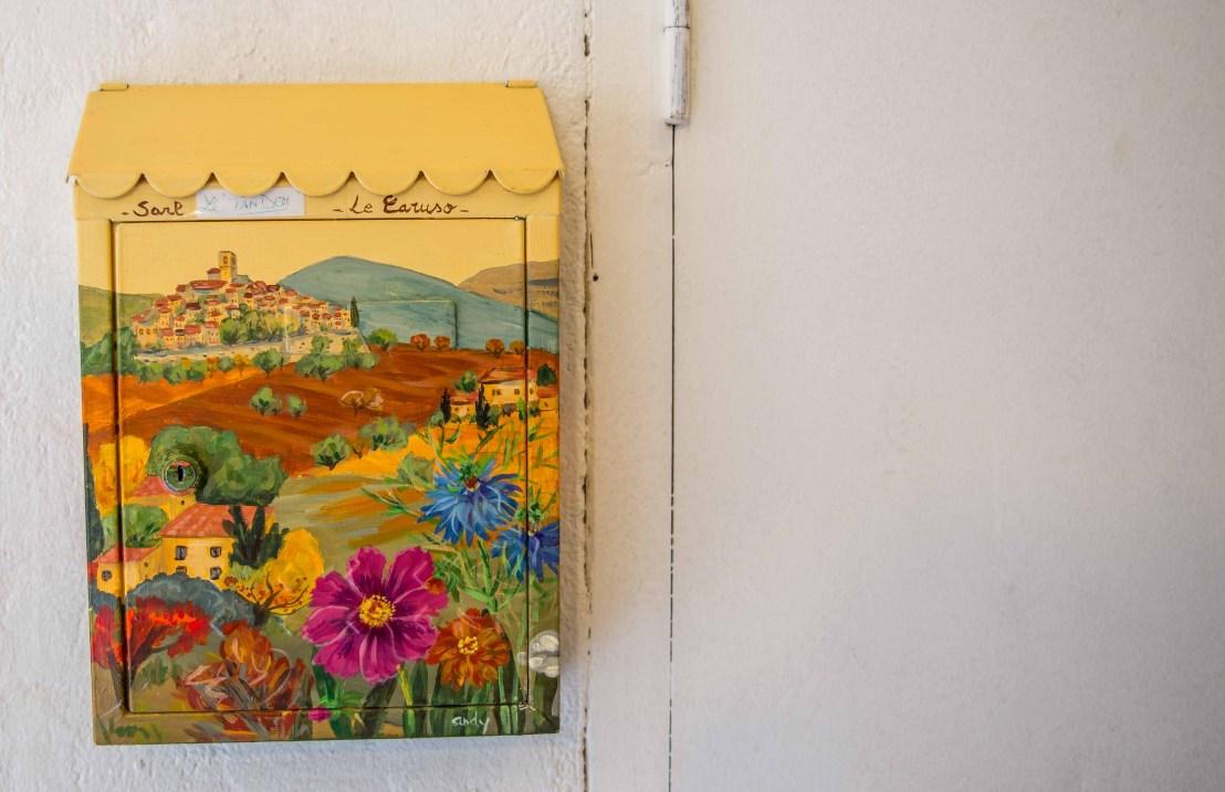 Saint Paul De Vence Provence Alpes Côte D'Azur icietlàbas ici et là-bas blog voyage boite aux lettres BAL