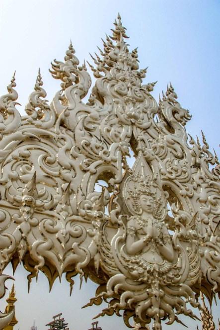 WatRongKhun White Temple Temple Blanc Chiang Rai Thailande blog voyage