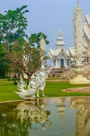Wat Rong Khun White Temple Temple Blanc Chiang Rai Thailande (7)