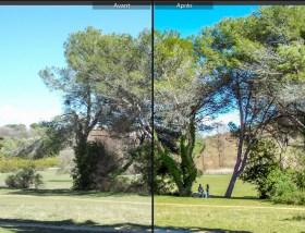 avant-après Mougins L'appareil fait il le photographe test appareil pourri blogvoyage blog voyage icietlabas