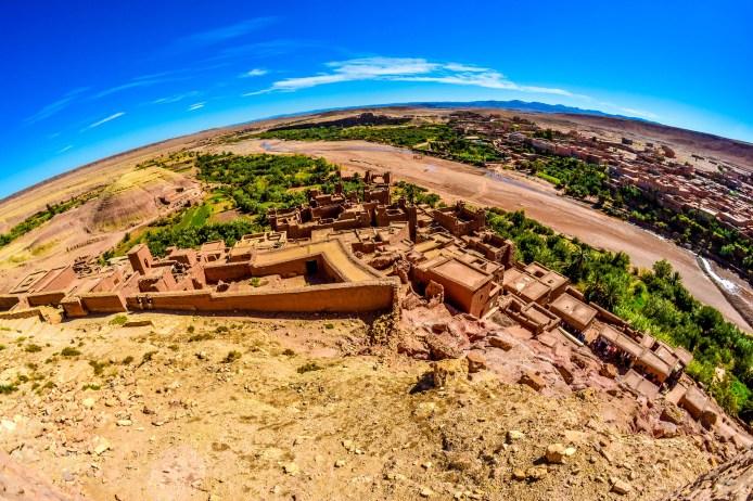 kasbah Ait Ben Haddou Maroc Sahara voyage blog blogvoyage desert icietlabas