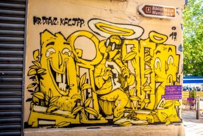 Street art à Marseille Le Panier Paca Blog voyage Icietlabas