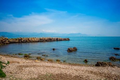 randonnée sentier du littoral cap d'antibes blog voyage icietlabas