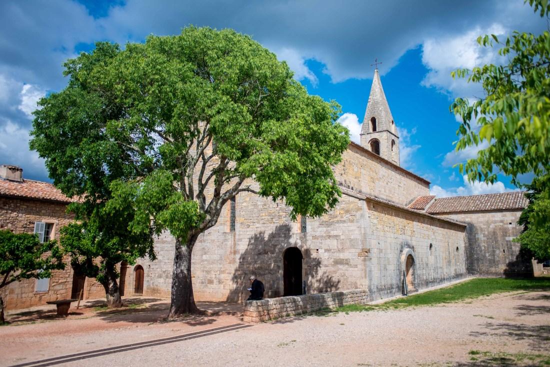 Abbaye du Thoronet provence alpes cote d'azur Paca blog voyage icietlabas