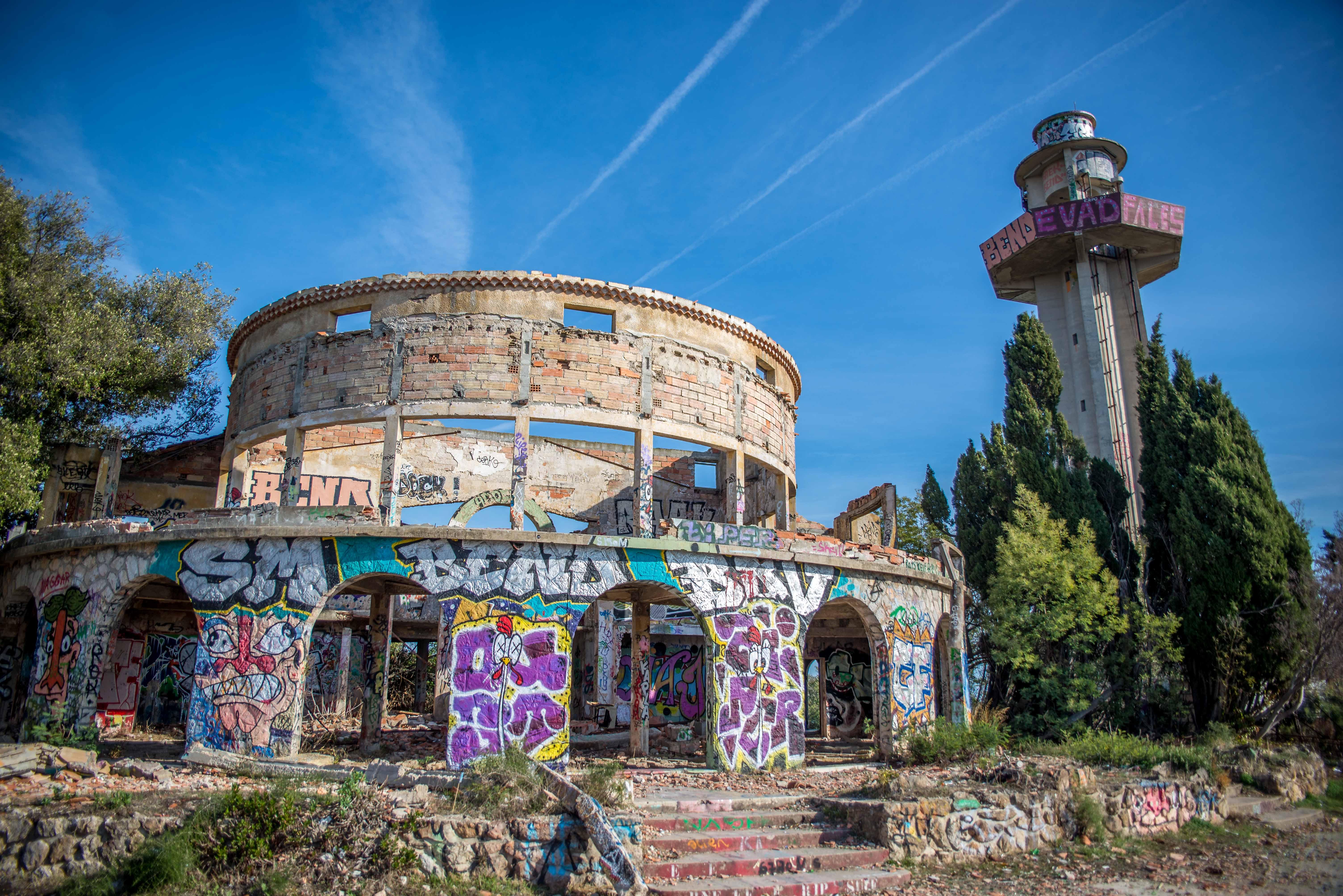 Observatoire de Super-Cannes Urbex blog voyage icietlabas