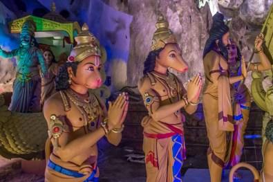 Batu Caves Ramayana Cave Malaisie Kuala Lumpur Blog Voyage Icietlabas