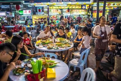 Kuala Lumpur Bukit Bintang et Jalan Alor Malaisie blog voyage icietlabas