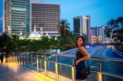 Kuala Lumpur Mosquee Jamek Malaisie blog voyage icietlabas-5