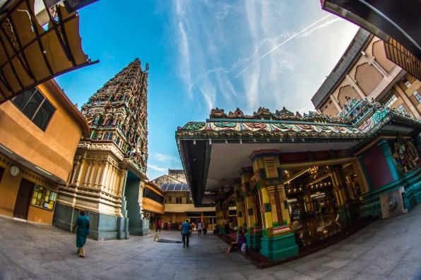 Kuala Lumpur Sri Maha Mariamman Temple Hindou Malaisie blog voyage icietlabas