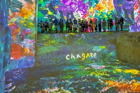 Carrières de Lumières Baux-de-Provence Edition Chagall blog voyage icietlabas-16
